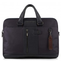 "Cartella 2man. pc15,6"" iPadAir/Pro9,7  rfid BRIEF BLU"