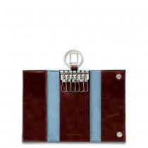 Portachiavi per porta blindata + moschettone BLUE SQUARE MO