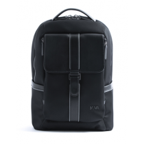 Courier Pro Backpack Organized Black