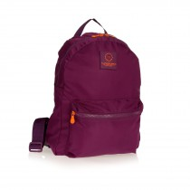 ZAINO NYLON BACK PACK COLOUR VIOLA