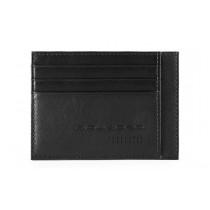 Bustina porta 6 carte di credito tascabile RFID Urban Nero