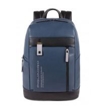 """Zaino porta PC 14"""" con protezione antiurto Downtown Blu"""