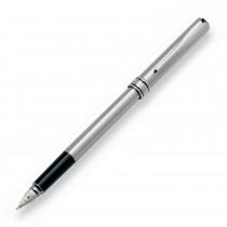 Penna stilografica Magellano interamente cromata