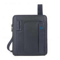 "Borsello porta iPad®Air/Air2 Pro 9.7""/iPad 11"" in tessuto e pelle P16 Carta da Zucchero"