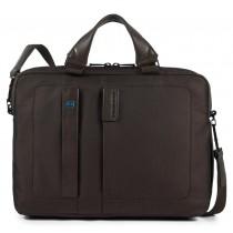 """Cartella a due manici porta PC 14"""" e porta iPad®Air/Pro 9,7""""/iPad 11"""" P16 Chevron Testa Moro"""