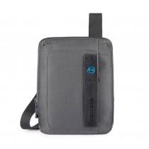 Borsello porta iPad®mini/mini2/mini3 P16 Chevron Grigio