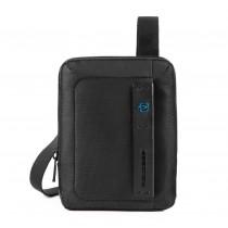 Borsello porta iPad®mini/mini2/mini3 P16 Chevron Nero