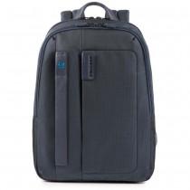 """Zaino porta PC 14"""" e porta iPad®10,5""""/iPad 9,7"""" P16 Chevron Blu"""