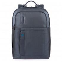 """Zaino fast-check porta PC 15.6"""" e iPad®Air/Pro 9.7""""/iPad 11"""" P16 Chev Blu"""