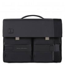 """Cartella porta pc 15,6"""" e porta iPad con patta 2 chiusure TOKYO NERO"""