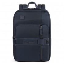 """Zaino porta pc 14"""" e porta iPad protezione rfid TOKYO BLU"""
