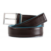 Cintura uomo con fibbia ad ardiglione BLUE SQUARE MOGANO