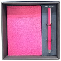 SET UNIX ROLLER WITH JOURNAL 11X16 HOT PINK