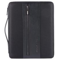 """Portablocco formato A4 porta iPad®10,5''/iPad 9,7""""Brief Nero"""