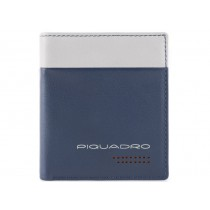 Porta carte di credito Rfid Urban  Blu/Grigio