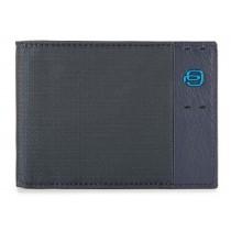 Portafoglio uomo porta 12 carte di credito P16 Chev Blu