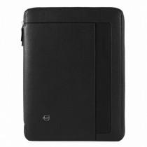Portablocco A4 porta iPadAir/Pro10,5 con auricolari Erse Nero