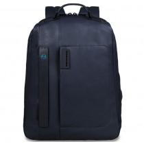 """Zaino Grande porta Pc 15"""" / iPad®Air / Air2 / iPad®mini P15 Pulse Blu Notte"""
