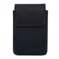 Porta carte di credito con estrazione facilitata Rfid Urban Blu