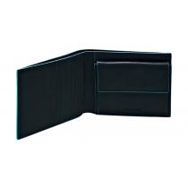 Portafoglio uomo - Blue Square - Nero