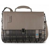 """Cartella porta PC 15"""" e porta iPad®Air/Pro 9.7""""/iPad 11"""" P16 Check"""